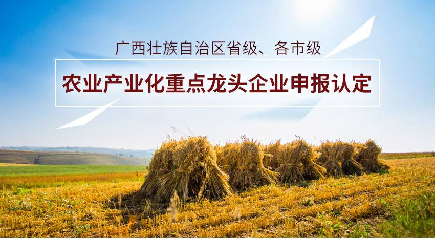 咕咕狗农业产业化重点龙头企业申报