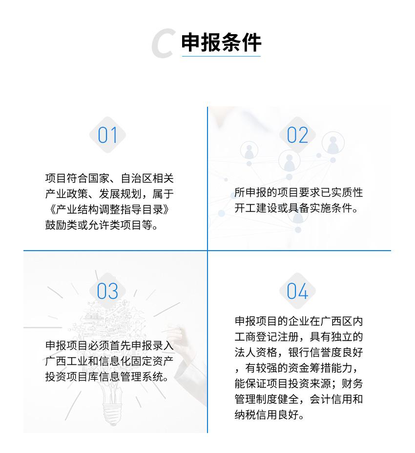 广西技术改造专项资金项目申报图3